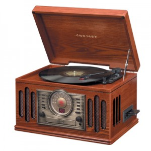 "Crosley ""retro"" turntable"